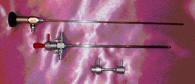 Цистоуретроскоп смотровой со стволом 19Ш и диагностическим переходником