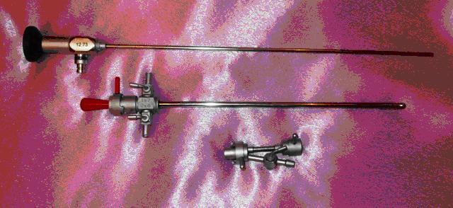 Цистоуретроскоп смотровой со стволом 19Ш и одноканальным переходником