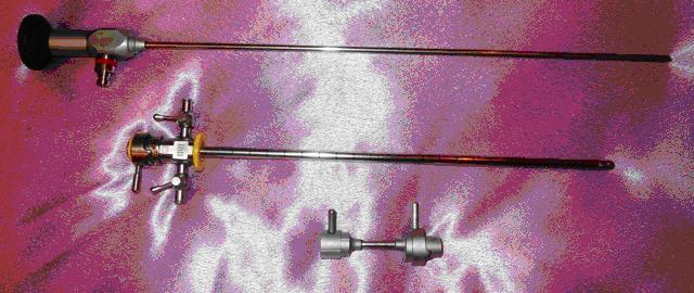 Цистоуретроскоп смотровой с трубкой 30 градусов и диагностическим переходником