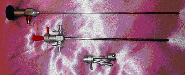 Цистоуретроскоп смотровой с трубкой 30 градусов, стволом 19Ш и одноканальным переходником