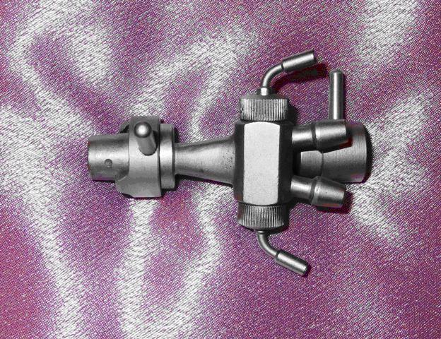 Переходник двухканальный для цистоуретроскопа