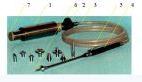Криоаппликатор (криодеструктор) КМТ-01, охлаждение закисью азота, комплект наконечников