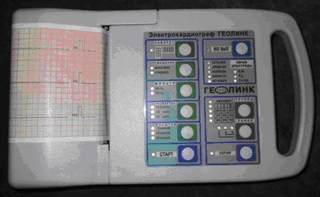 Кардиограф ЭКЗТ-12-01 «Геолинк» (без аккумулятора и кабеля)
