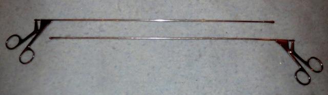 Щипцы биопсийные ложкообразные для ректоскопа