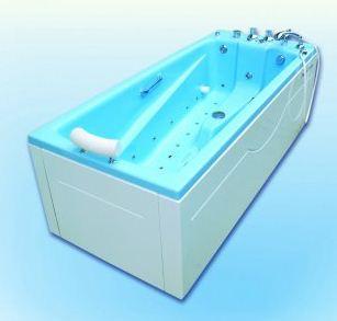 Ванна анатомической формы Okkervil бальнеологическая Объем 350 литров