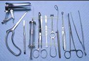 Набор инструментов поликлинический