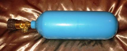 Баллон кислородный объемом 1 литр