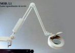Лампа-лупа AFMA на струбцине
