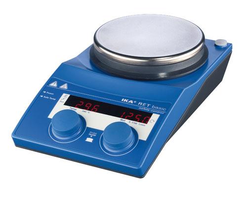 Мешалка магнитная с подогревом RET basic (IKA)