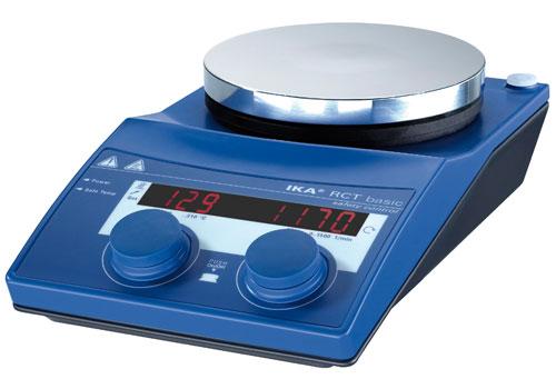 Мешалка магнитная с подогревом RCT basic (IKA)