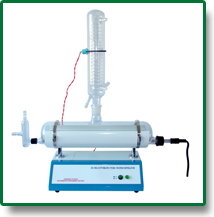 Аквадистиллятор SZ-I стеклянный, моно (1,8 л/ч, КНР)