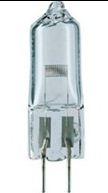 Лампа галогенная низковольтная без отражателя 22,8V 50W G 6.35