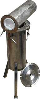Фильтр для очистки молока Ф-01М, пласт./нерж.