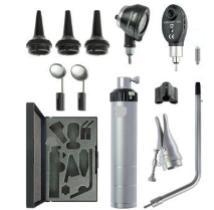 Диагностический набор Бейсик С10/Е10 офтальмоскоп 1 апертура и отоскоп