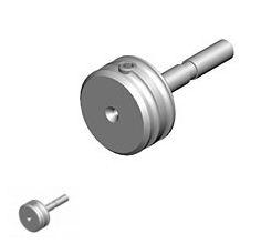 Однопортовый адаптер для эндоосветителей с разъемом Triple port (Ruck®)