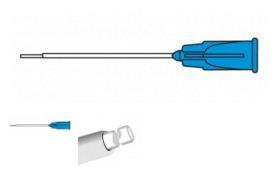 12-5192 Канюля с мягким наконечником с алмазным напылением для удаления триамцинолона