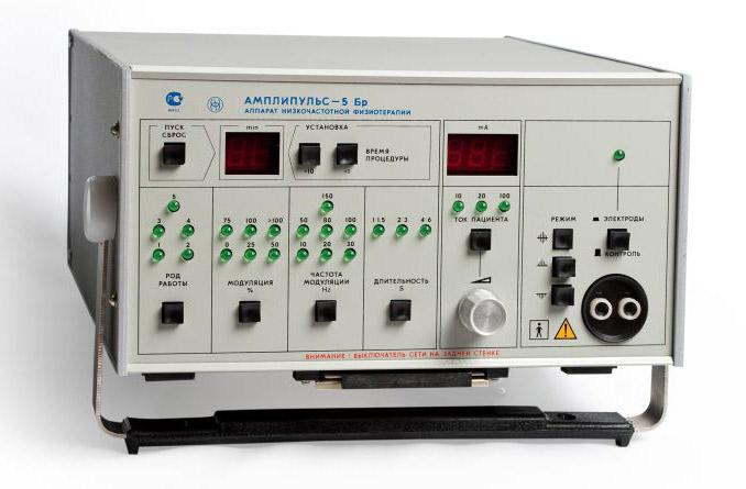 Аппарат низкочастотной физиотерапии «Амплипульс-5 Бр» (Брянск)