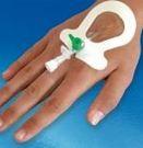Пластырь-повязка Easl-V с прозрачной мембраной для фиксации периферических венозных катетеров