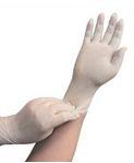 Перчатки медицинские латексные смотровые (диагностические) нестерильные опудренные
