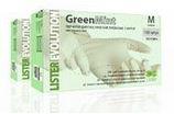 Перчатки латексные неопудренные, текстурированные по всей поверхности, ароматизированы зеленой мятой GREEN MINT