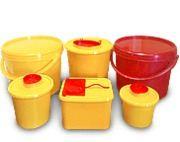 Емкость-контейнеры для сбора медицинских отходов (органических отходов и острого инструментария)
