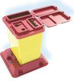 Емкость-контейнер для сбора медицинских отходов и острого инструментария (универсальный 1,0 л.)