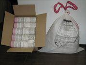 Пакеты для утилизации медицинских отходов с завязками