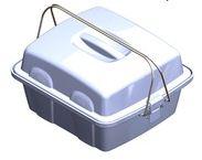 Укладка-контейнер УКП-100-01  для доставки проб биологического материала в пробирках и флаконах