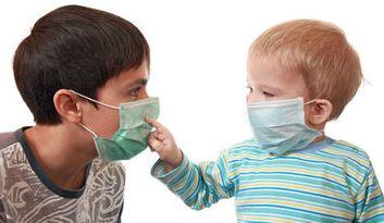 Маска медицинская детская одноразовая