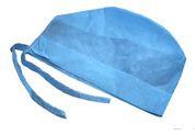 Шапочка-колпак для врача из нетканного материала Спанбонд на завязках