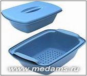 Емкость-контейнер КДС для предварительного замачивания и дезинфекции