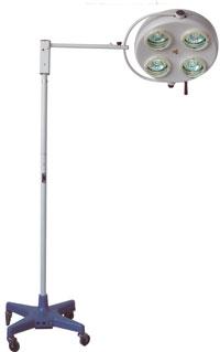 Cветильник передвижной, четырехрефлекторный: YD01-4 (40 000Lx)